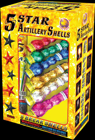 Five Star Artillery Shells