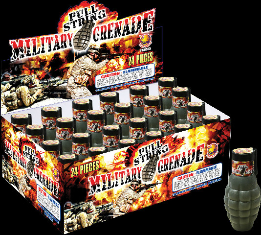 Pulling Smoke Grenade