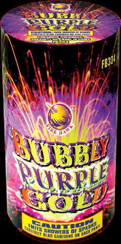 Bubbly Purple Gold