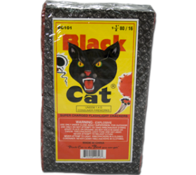 Black Cat Firecracker Brick