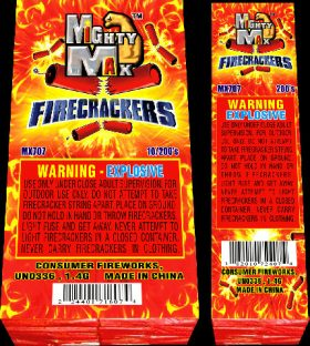 Mighty Max Firecrackers
