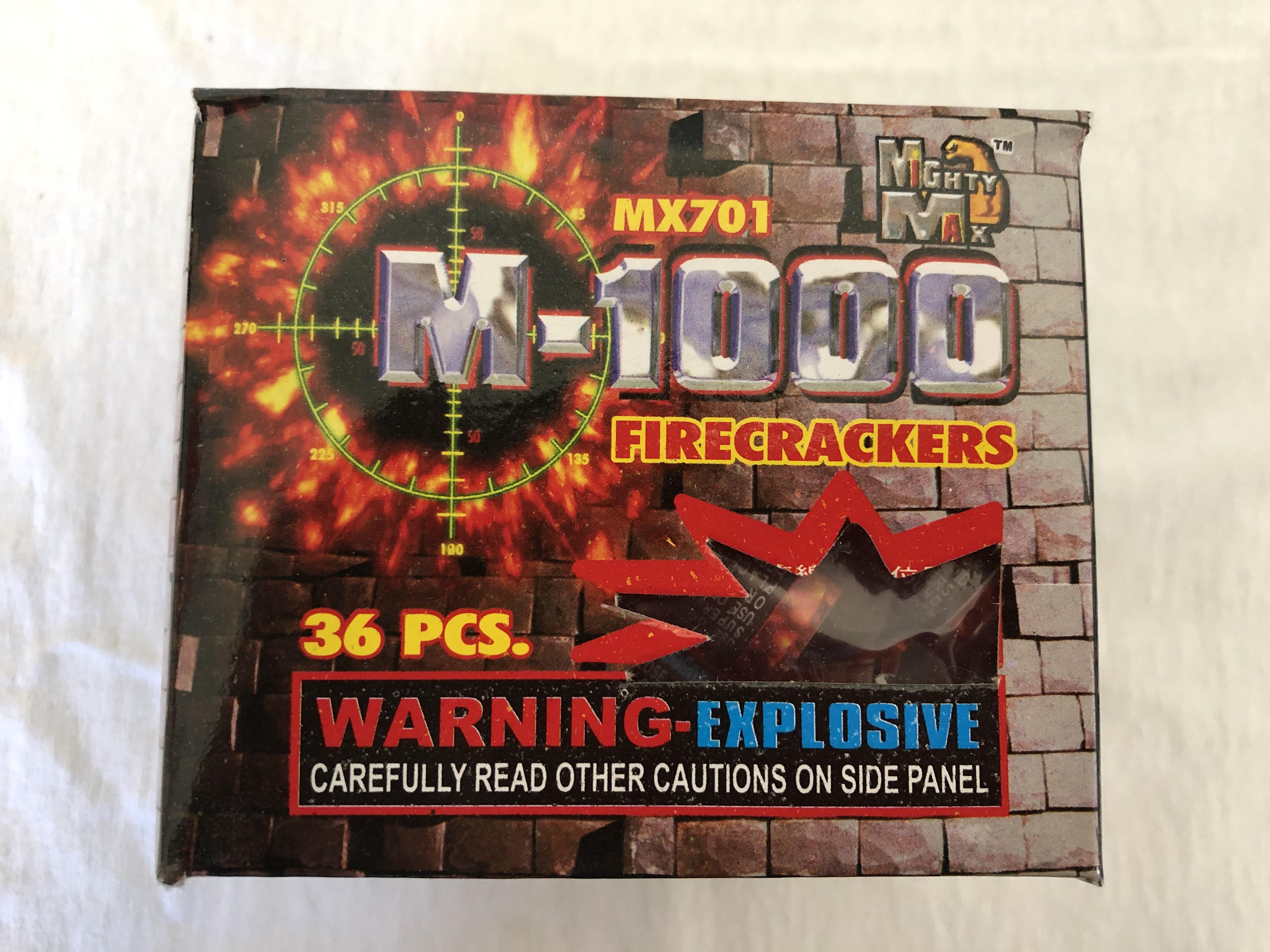 M-1000 firecrackers