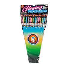 Glowing Rockets